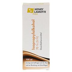 ISOPROPYLALKOHOL 70% V/V Henry Lamotte 100 Milliliter - Vorderseite