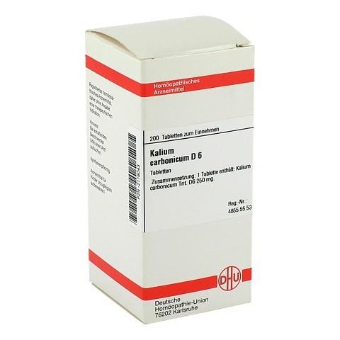 KALIUM CARBONICUM D 6 Tabletten 200 St�ck N2