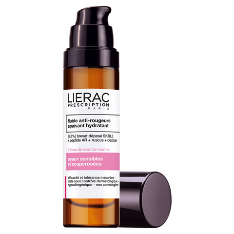 LIERAC Prescription Anti-Rötungen Fluid 40 Milliliter