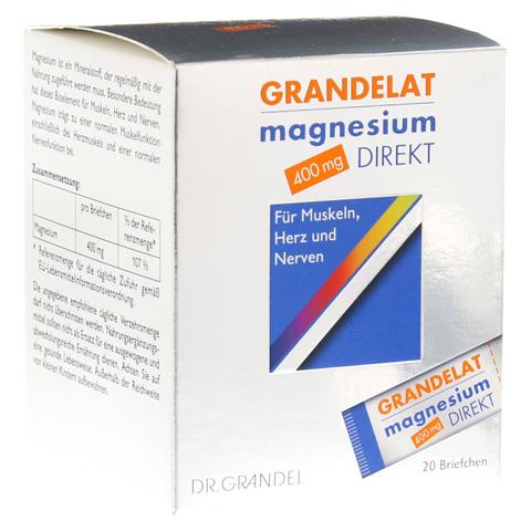 MAGNESIUM DIREKT 400 mg Grandelat Pulver 20 Stück