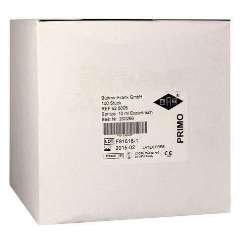 PRIMO Einmalspritze 10 ml exzentrisch 100x10 Milliliter
