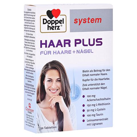 DOPPELHERZ Haar Plus system Tabletten 30 Stück