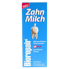 BIOREPAIR Zahn-Milch 500 Milliliter - Vorderseite
