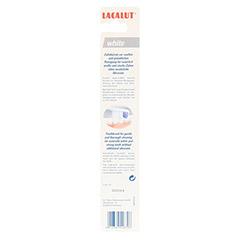 LACALUT white Zahnbürste 1 Stück - Rückseite
