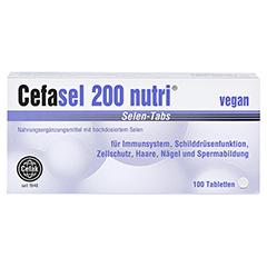 CEFASEL 200 nutri Selen-Tabs 100 Stück - Vorderseite