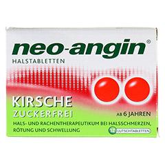 Neo-Angin Halstabletten Kirsche 12 Stück - Vorderseite