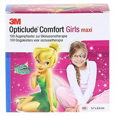 Opticlude 3M Comfort Disney Pflaster Girls maxi 100 St�ck - Vorderseite