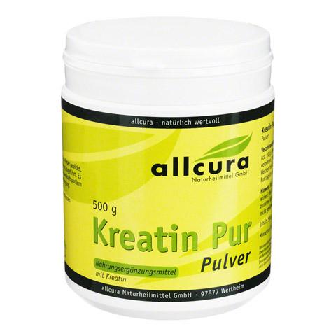 KREATIN PUR Pulver Premium Qualität 500 Gramm