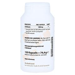 METHIONIN 500 mg Kapseln 120 Stück - Linke Seite
