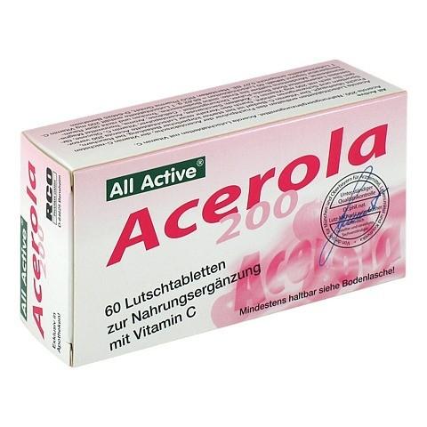 ACEROLA 200 All Active Lutschtabletten 60 Stück