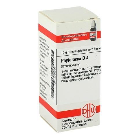 PHYTOLACCA D 4 Globuli 10 Gramm N1