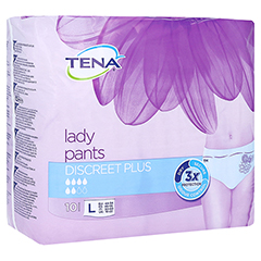 TENA LADY Pants Discreet plus L 6x10 Stück