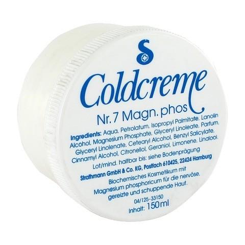 COLDCREME Nr.7 Magnesium phosph. 150 Milliliter