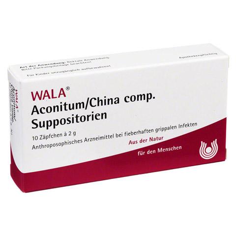 ACONITUM/CHINA comp.Suppositorien 10x2 Gramm N1