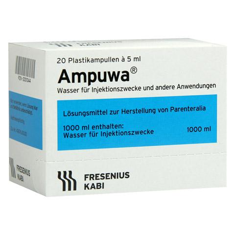 AMPUWA Plastikamp. Injektions-/Infusionslösung 20x5 Milliliter N3