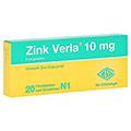Zink Verla 10mg 20 Stück N1
