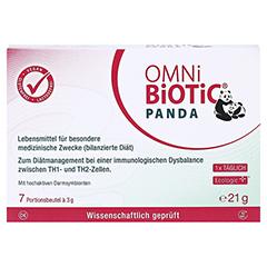 OMNI BiOTiC Panda Beutel 7x3 Gramm - Vorderseite