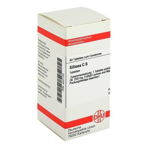 SILICEA C 6 Tabletten 80 Stück N1