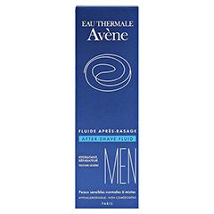 AVENE MEN After-Shave Fluid 75 Milliliter - Rückseite