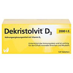 DEKRISTOLVIT D3 2.000 I.E. Tabletten 120 Stück - Vorderseite