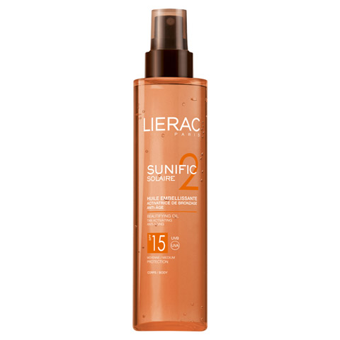 LIERAC Sunific LSF 15 Öl 125 Milliliter