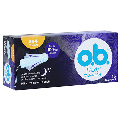 O.B. Tampons Flexia normal 16 St�ck
