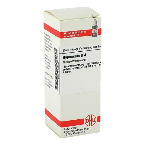 HYPERICUM D 4 Dilution 20 Milliliter N1