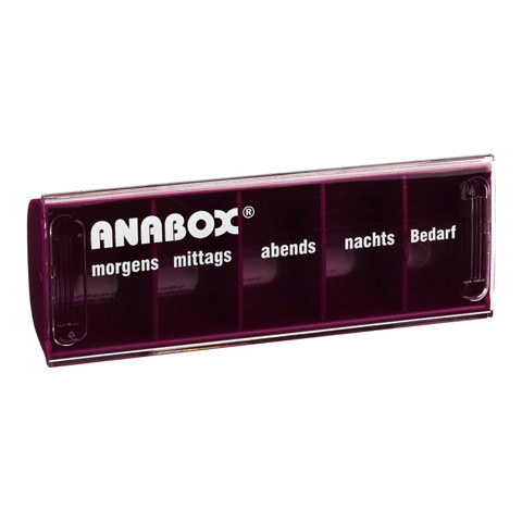 ANABOX Tagesbox rot 1 Stück