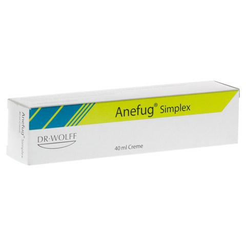 ANEFUG simplex Creme 40 Milliliter