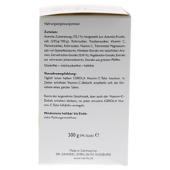 CEROLA Vitamin C Taler Grandel 96 Stück - Rechte Seite
