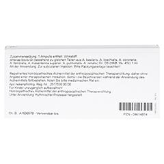 ARTERIAE GL D 5 Ampullen 10x1 Milliliter N1 - Rückseite