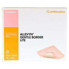 ALLEVYN Gentle Border Lite 10x10 cm Schaumverb. 10 St�ck - Vorderseite