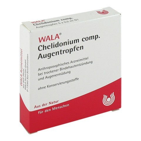 CHELIDONIUM COMP Augentropfen 5x0.5 Milliliter N1