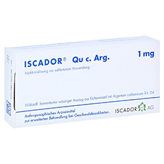 ISCADOR Qu c.Arg 1 mg Injektionsl�sung 7x1 Milliliter N1