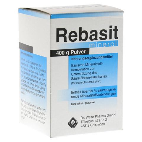 REBASIT Mineral Pulver 400 Gramm