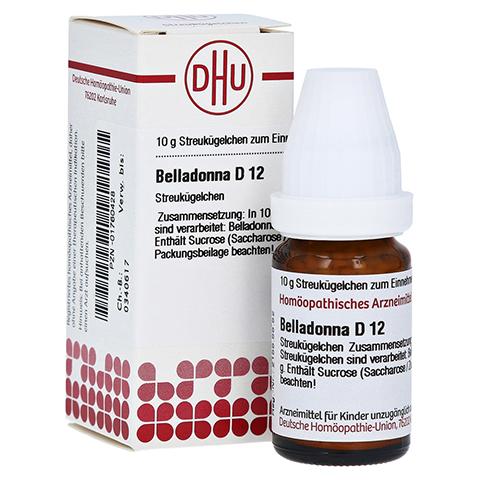 BELLADONNA D 12 Globuli 10 Gramm N1