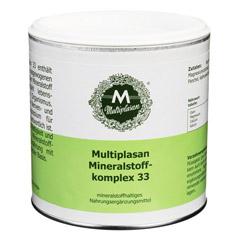 MULTIPLASAN Mineralstoffkomplex 33 Pulver 300 Gramm