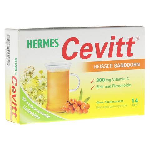 HERMES Cevitt heißer Sanddorn Granulat 14 Stück