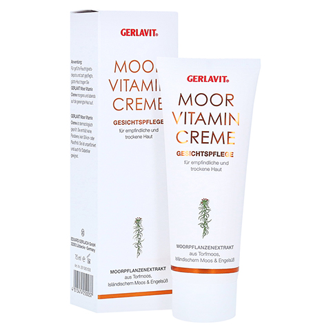 GERLAVIT Moor Vitamin Creme 75 Milliliter