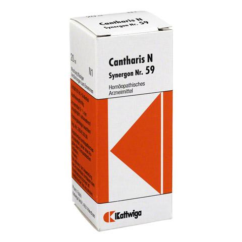 SYNERGON KOMPLEX 59 Cantharis N Tropfen 20 Milliliter