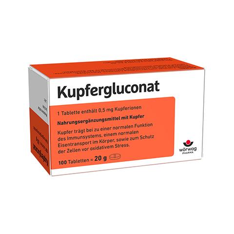 KUPFERGLUCONAT Tabletten 100 St�ck