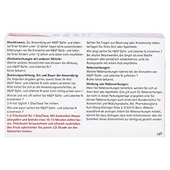 H&S Galle- und Lebertee N Filterbeutel 20 Stück - Rückseite
