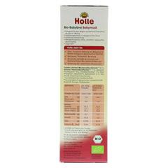 HOLLE Bio Babybrei Babymüsli 250 Gramm - Linke Seite
