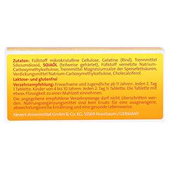 VITAMIN D3 Hevert 4.000 I.E. Tabletten 30 Stück - Rückseite