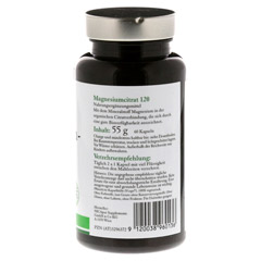 NICAPUR Magnesiumcitrat 120 Kapseln 60 Stück - Rechte Seite