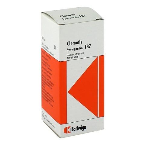 SYNERGON KOMPLEX 137 Clematis Tropfen 50 Milliliter N1