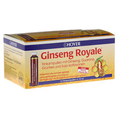 HOYER Ginseng Royale Trinkampullen 14x15 Milliliter