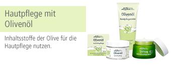 Hautpflege mit Olivenöl Themenshop