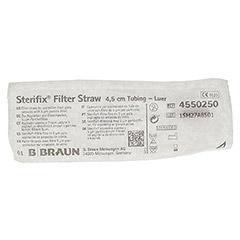 STERIFIX Filterh.4,5 cm Schl. 1 St�ck