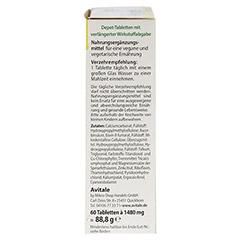 VEGGIE Depot Vitamine+Mineralstoffe Tabletten 60 St�ck - Linke Seite